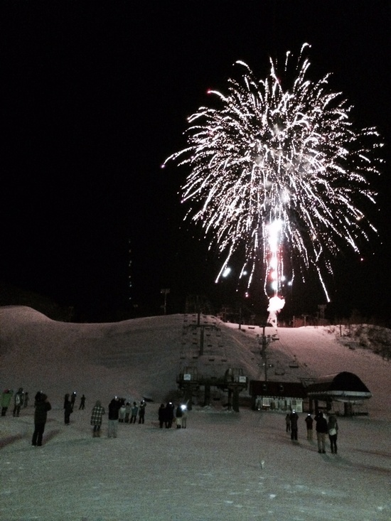 年越し花火|上越国際スキー場のクチコミ画像