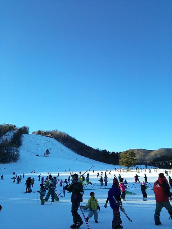 雪不足心配なし! 草津温泉スキー場のクチコミ画像