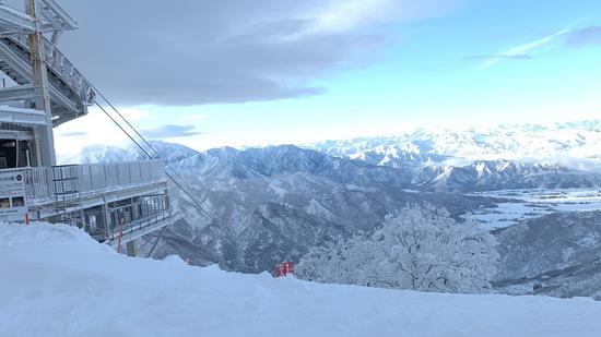 元旦初滑り快晴!|六日町八海山スキー場のクチコミ画像