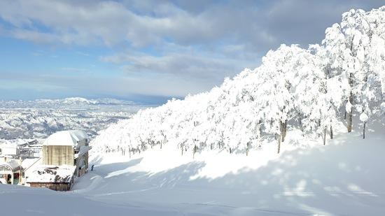 元旦初滑り快晴! 六日町八海山スキー場のクチコミ画像2
