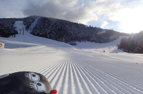 雪がよくて広い♪|スキージャム勝山のクチコミ画像