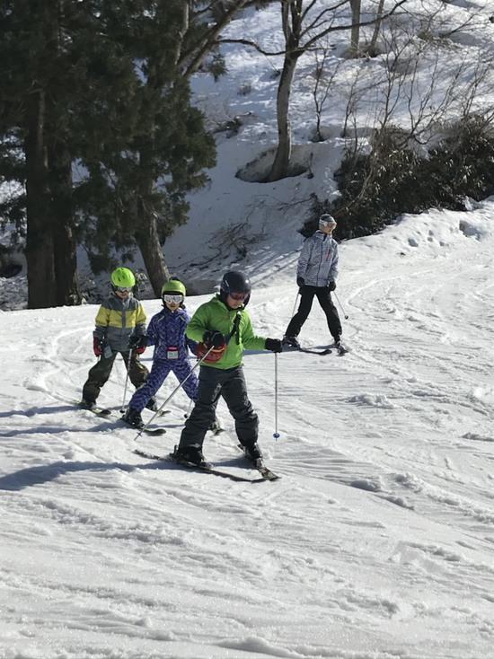 友達と初めてのスキー|湯沢中里スノーリゾートのクチコミ画像