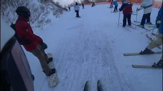 上は風が強いですの続き 安比高原スキー場のクチコミ画像
