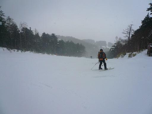 雪のちガス少々|信州松本 野麦峠スキー場のクチコミ画像