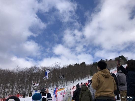 コースが広く景色がよく斜度も適度な良いスキー場 たざわ湖スキー場のクチコミ画像3