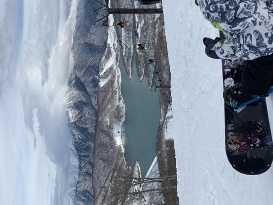 全面営業はこの辺りではかぐらだけ|かぐらスキー場のクチコミ画像