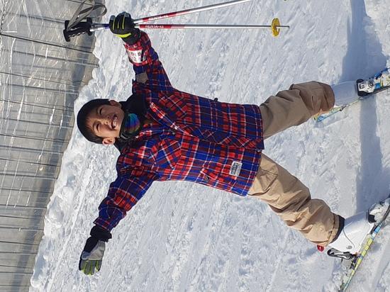 滑れるよーになりました!|おじろスキー場のクチコミ画像