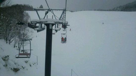 雪も多く空いてました|飛騨高山スキー場のクチコミ画像2