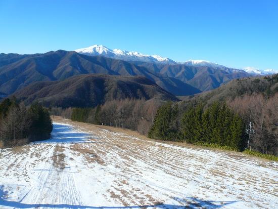 確かに雪不足|信州松本 野麦峠スキー場のクチコミ画像