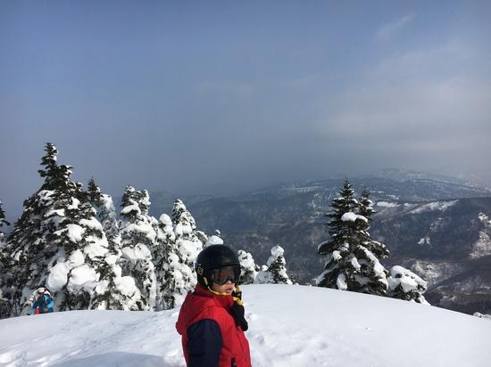 スノーキャットで山頂に。|菅平高原スノーリゾートのクチコミ画像