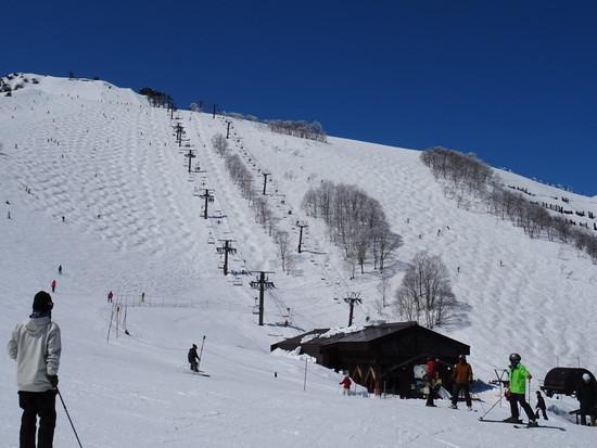 フラットなのは10時まで|白馬八方尾根スキー場のクチコミ画像