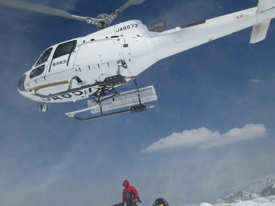 初のヘリスキー|栂池高原スキー場のクチコミ画像