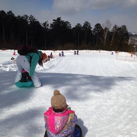娘のスキー場デビューに|ハンターマウンテン塩原のクチコミ画像
