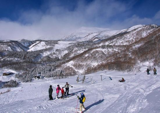 北アルプスの眺望と樹氷|栂池高原スキー場のクチコミ画像