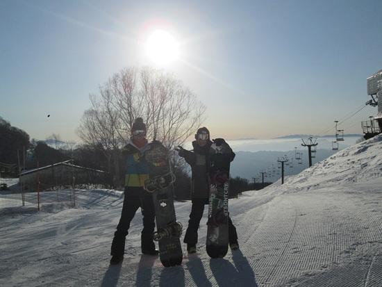 初すべり最高|栂池高原スキー場のクチコミ画像