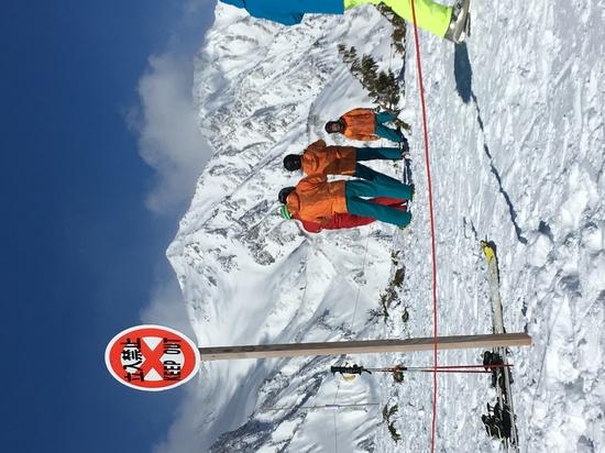 こらこら…|白馬八方尾根スキー場のクチコミ画像