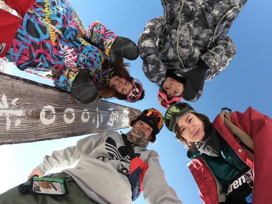 ピーカンすぎるぅ!|丸沼高原スキー場のクチコミ画像