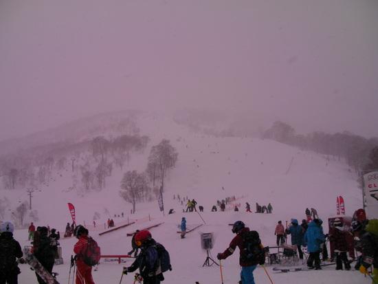4月末なのに・・雪が・・|かぐらスキー場のクチコミ画像