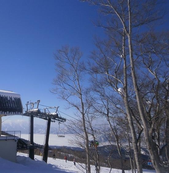 雲の上で、スキー!|スキージャム勝山のクチコミ画像2