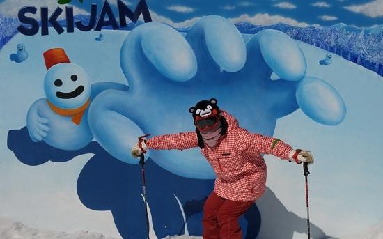 雲の上で、スキー!|スキージャム勝山のクチコミ画像3
