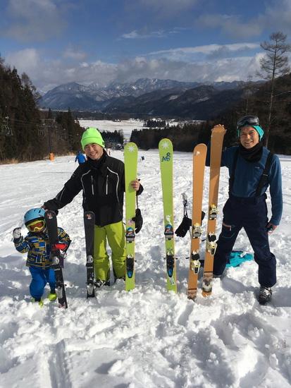 3世代で楽しめるスキー場|エイブル白馬五竜のクチコミ画像