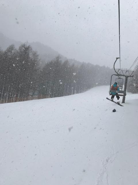 晴れのち雪のち雨…|八千穂高原スキー場のクチコミ画像2