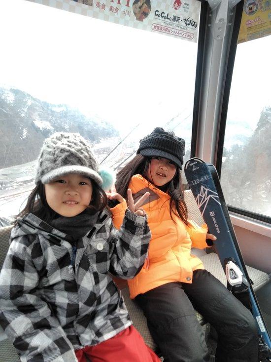 初めてのスキー|GALA湯沢スキー場のクチコミ画像