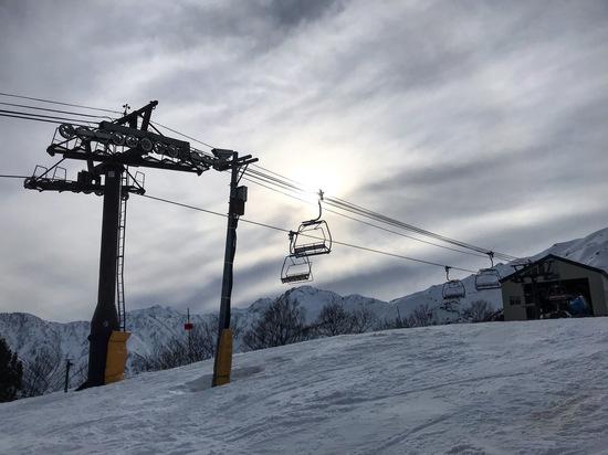 スケール感とボリューム感|白馬八方尾根スキー場のクチコミ画像