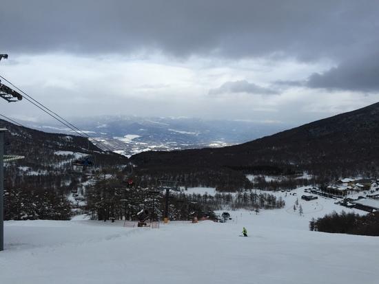 天然雪のアサマ