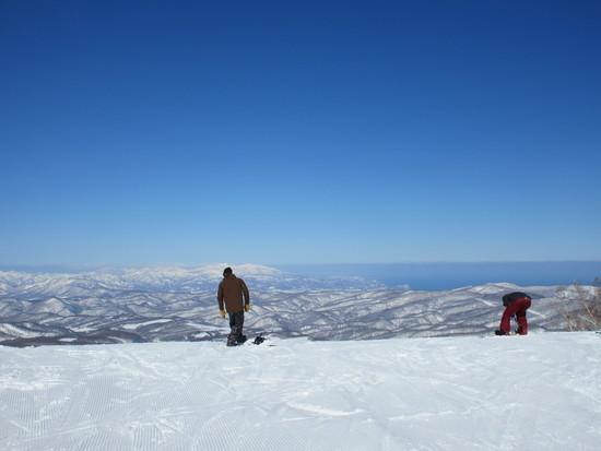 今シーズン一番の天気|KIRORO SNOW WORLDのクチコミ画像