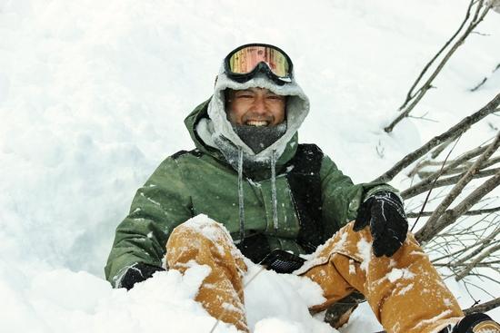 最高の雪=最高の笑顔|白馬八方尾根スキー場のクチコミ画像