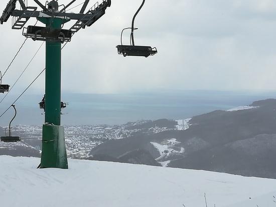お正月すいてました|朝里川温泉スキー場のクチコミ画像1