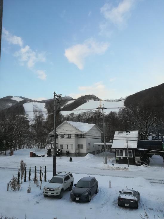 お正月すいてました|朝里川温泉スキー場のクチコミ画像2