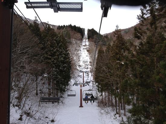 初滑りサイコー|めいほうスキー場のクチコミ画像