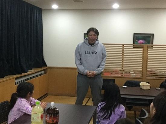 木村公宣ジュニアスキーレッスンに参加しました。