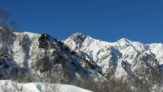 北アルプスがキレイ|白馬八方尾根スキー場のクチコミ画像