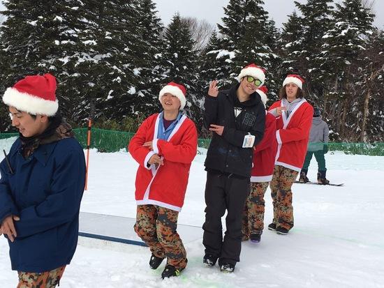 サンタがダンシング!|竜王スキーパークのクチコミ画像