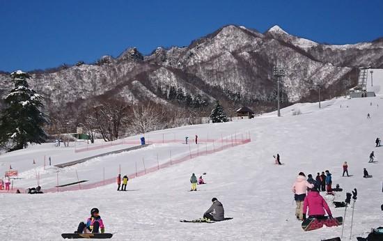 やっぱりきれい!冬の山|岩原スキー場のクチコミ画像