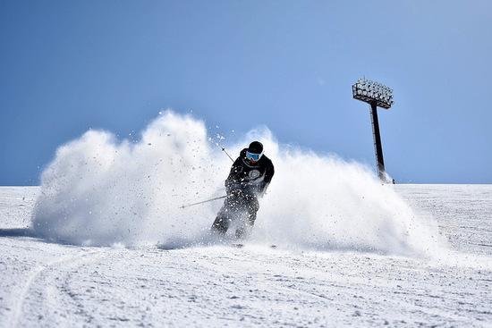 いい雪質でした。|竜王スキーパークのクチコミ画像