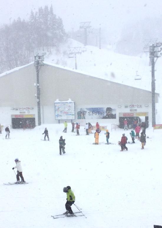 初めて行きました。|GALA湯沢スキー場のクチコミ画像
