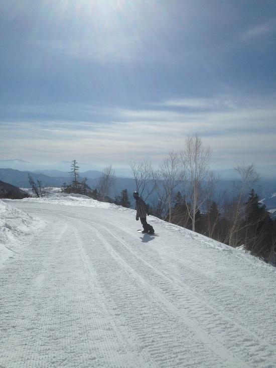 晴天でした|栂池高原スキー場のクチコミ画像