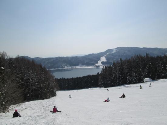 青木湖に魅せられて|白馬さのさかスキー場のクチコミ画像