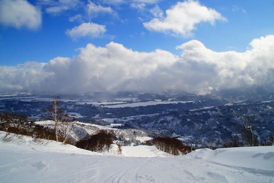 快晴!|さかえ倶楽部スキー場のクチコミ画像1