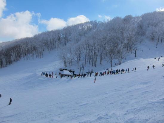 2014/02/23(日) 長野県斑尾の速報 斑尾高原スキー場のクチコミ画像2