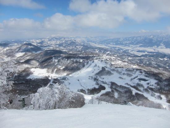 2014/02/23(日) 長野県斑尾の速報 斑尾高原スキー場のクチコミ画像3