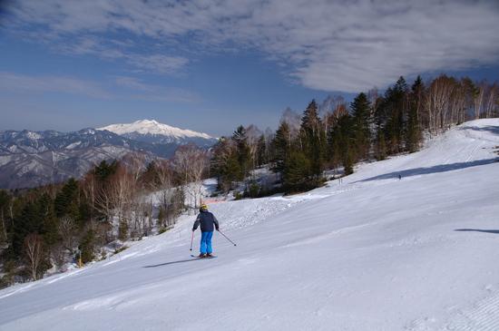 展望のスキーヤー専用ゲレンデ|木曽福島スキー場のクチコミ画像2