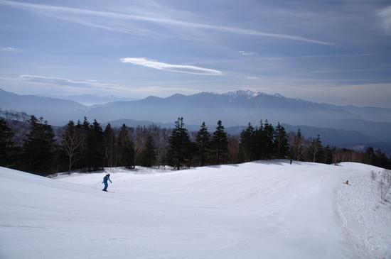 展望のスキーヤー専用ゲレンデ|木曽福島スキー場のクチコミ画像3