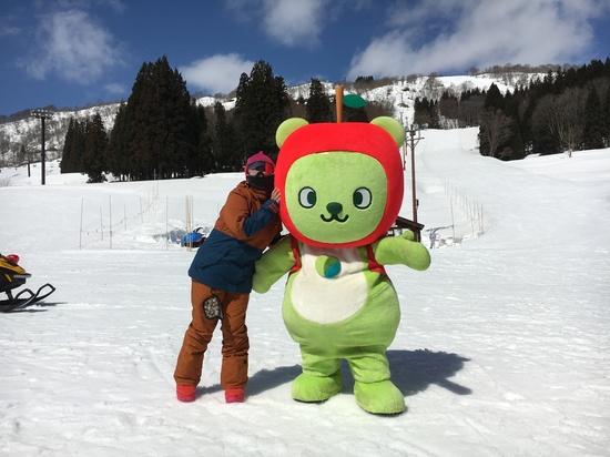 初ゆるキャラ|さかえ倶楽部スキー場のクチコミ画像