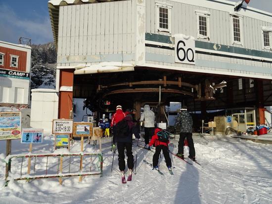 やっと一本ブナコースが滑走可能です。|HAKUBAVALLEY 鹿島槍スキー場のクチコミ画像