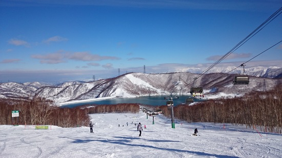 新年初滑り!|苗場スキー場のクチコミ画像